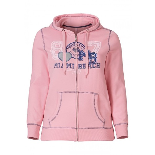Sheego - Sweatjacke - rosé | LapreZa Online Shop