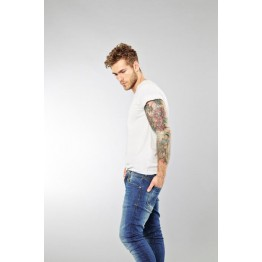 T-Shirt (2-er Pack) - Slim Fit - weiß