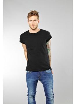 T-Shirt (2-er Pack) - Slim Fit - schwarz