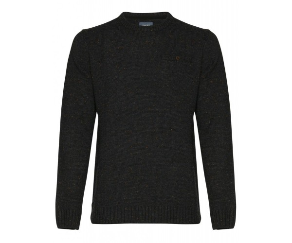 Pullover - Slim Fit - raven grey