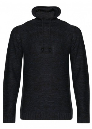 Pullover - Slim Fit - blau