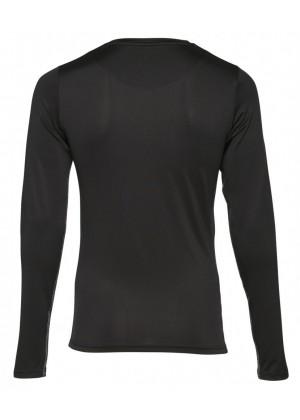 Langarmshirt - Muscle Fit - schwarz