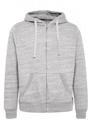 Sweatshirt - Regular Fit - hellgrau