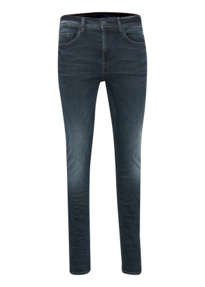 Jeans - Skinny Fit- dunkelblau