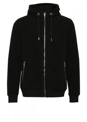 Kapuzen Pullover - schwarz