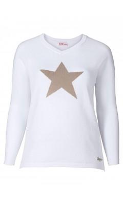 Pullover - weiß