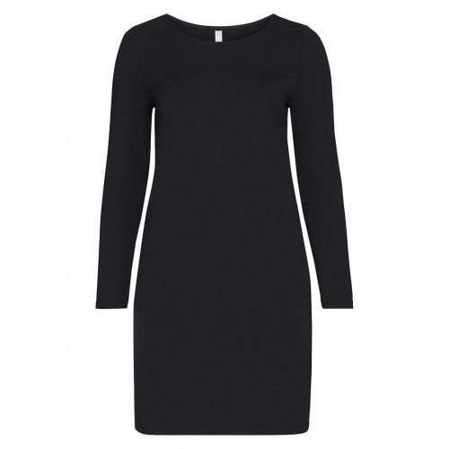 Sheego - BASIC Kleid - Schwarz | LapreZa Online Shop