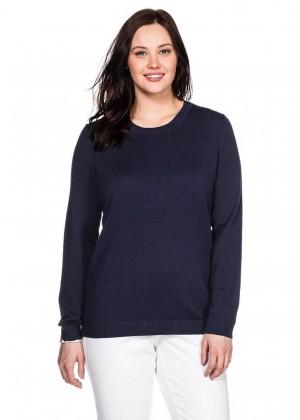 Basic Pullover - marine