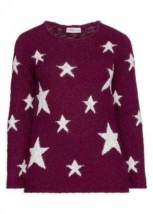 Pullover - beere