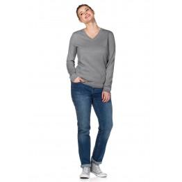 Basic Pullover - Grau