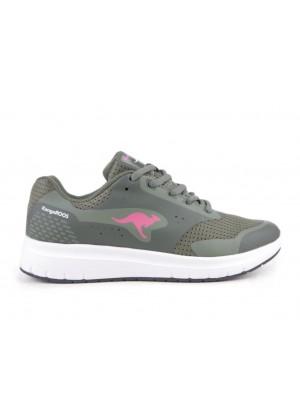 Sneaker - olive grün