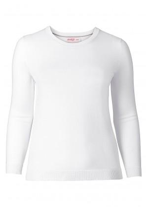 BASIC - Pullover - weiß