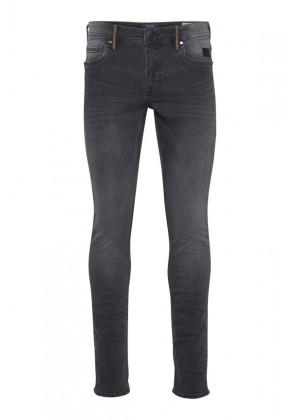 Jeans - Slim Fit - grau