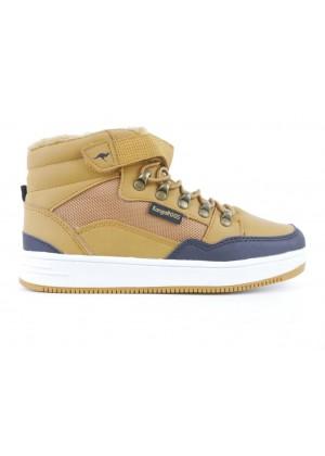 High Sneaker - braun