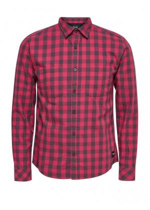 Hemd - rot/schwarz