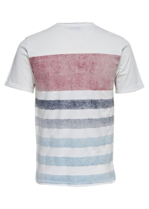 T-Shirt- Slim Fit - weiß