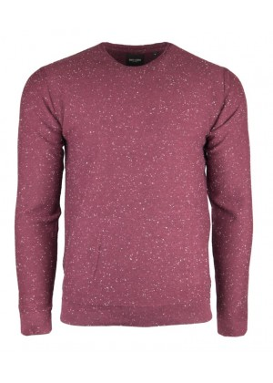 Pullover - bordeaux rot