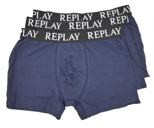 Boxershorts - blau - 3er Pack