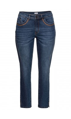 Jeans - schmal - dunkelblau