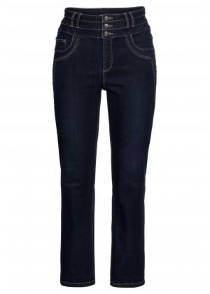Jeans - High Waist - blau