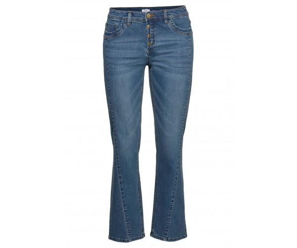 Jeans - Gerade Stretch - blau