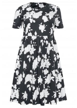 Shape Kleid - schwarz / weiß
