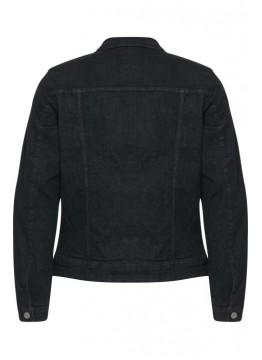 Jeansjacke - Regular Fit - schwarz