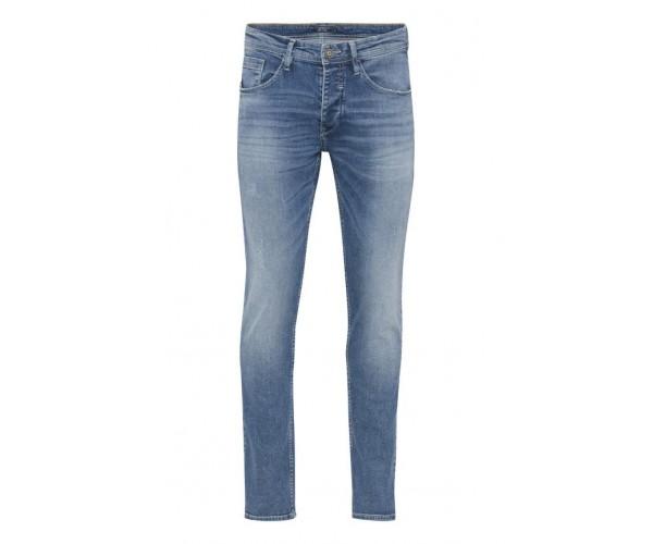 Jeans - Slim Fit - blau