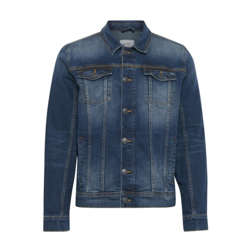 BLEND - Jeansjacke - Regular Fit - dunkelblau | LapreZa Online Shop