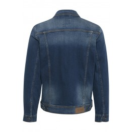 Jeansjacke - Regular Fit - dunkelblau