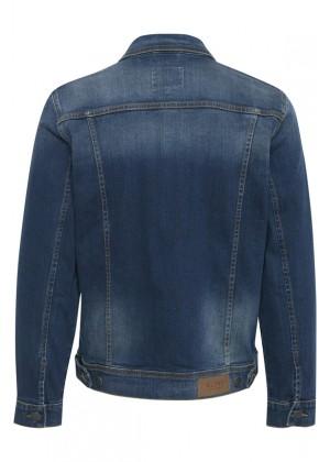 Jeansjacke - Regular Fit - dunkelblau