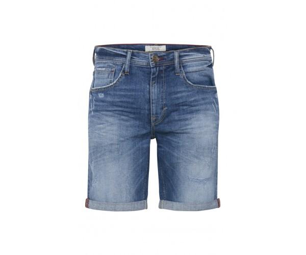 Denim Shorts - Slim Fit - blau