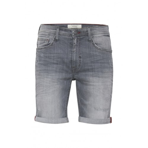 BLEND - Denim Shorts - Slim Fit - grau | LapreZa Online Shop
