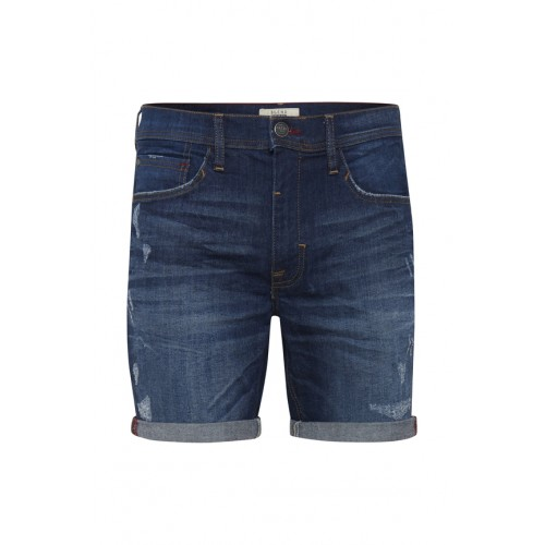 BLEND - Denim Shorts - Slim Fit - dunkelblau | LapreZa Online Shop