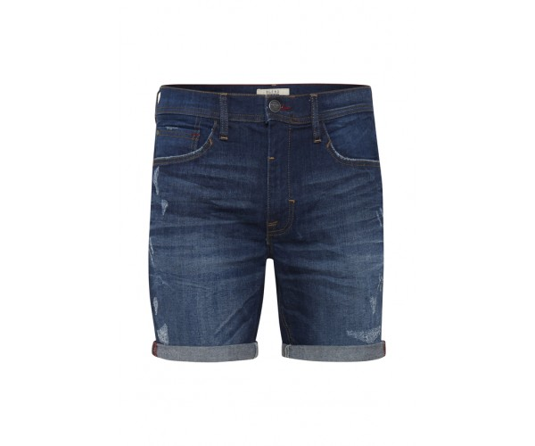 Denim Shorts - Slim Fit - dunkelblau