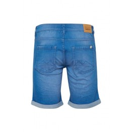 Denim Shorts - Slim Fit - blau