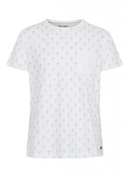 T-Shirt - Slim Fit - weiß