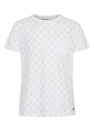 T-Shirt - Slim Fit - weiß