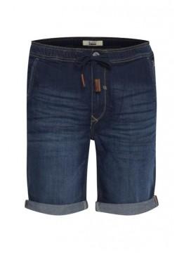 Denim Shorts - Slim Fit - dunkelblau