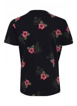 T-Shirt - Slim Fit - schwarz