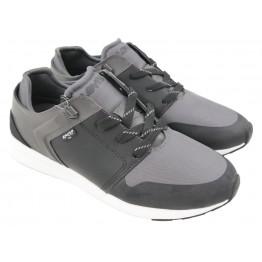 Sneaker - grau/schwarz
