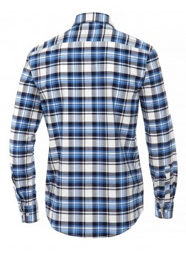 Hemd - Casual Fit - blau