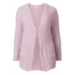 Longstrickjacke - pink