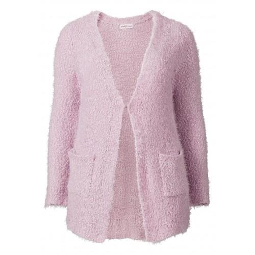 Sheego - Longstrickjacke - pink | LapreZa