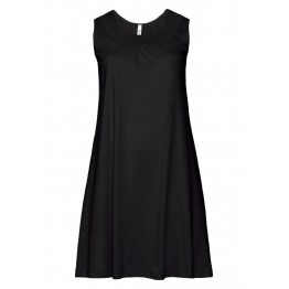 Shirtkleid - schwarz