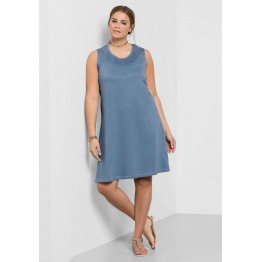 Shirtkleid - blau