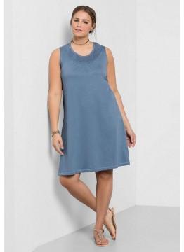 Shirtkleid - blau