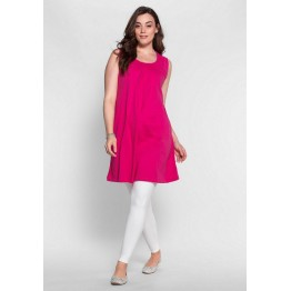 Shirtkleid - fuchsia