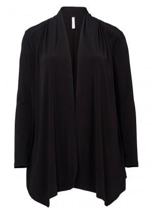 Jerseyjacke - schwarz