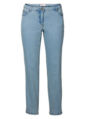 Jeans - stretch - blau denim